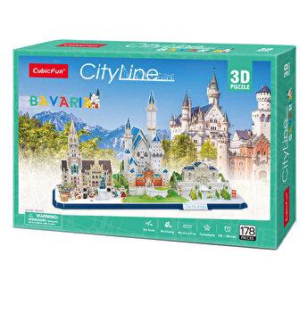 Puzzle 3D - Bavaria, 178 piese