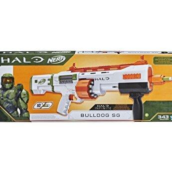 Blaster Nerf - Halo Bulldog SG, 10 proiectile