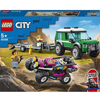LEGO City - Transportor automobile de curse 60288