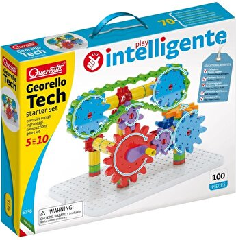 Set Quercetti - Georello Tech, starter set, 100 piese