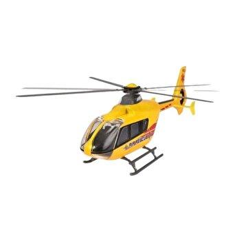 Elicopter din metal Airbus EC 135, galben