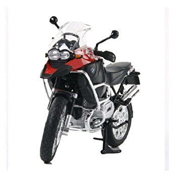 Motocicleta metalica BMW RS1200 GS rosu scara 1:9