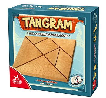Joc Tangram, lemn