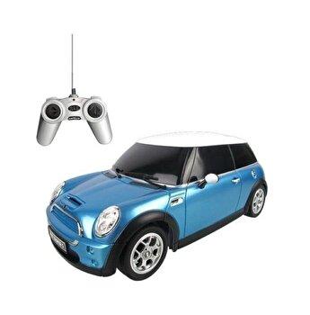 Masina cu telecomanda Minicooper, bleu, scara 1 la 18