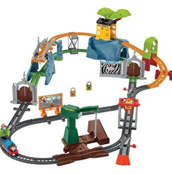 Thomas & Friends - Set motorizat Aventuri in parcul cu animale