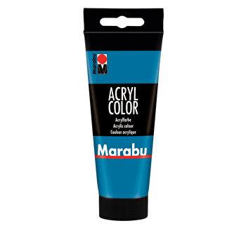 Culoare acrilica Marabu, 100 ml, Cyan