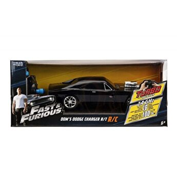 Masina Fast and Furious RC Dodge Charger 1970 scara 1:16