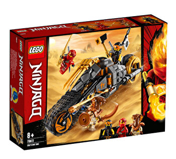 LEGO Ninjago, Motocicleta de teren a lui Cole 70672