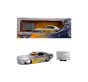 Macheta metalica Chevy Camaro 1969, scara 1:24