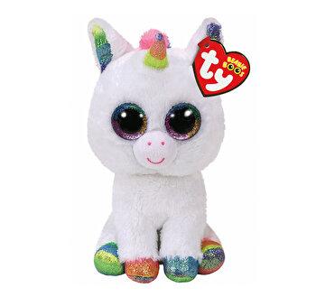 Pixy unicorn alb - plus Ty, 15 cm, Boos
