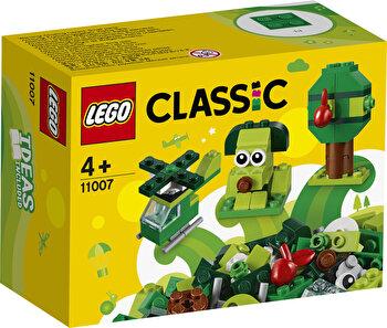 LEGO Classic, Caramizi creative verzi 11007