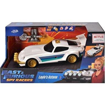 Masinuta metalica Fast and Furious - Spy Racers Layla's Hyper Astana, scara 1:24
