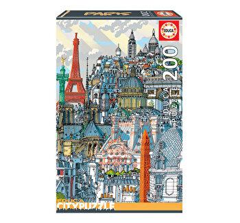 Puzzle Paris, Citypuzzles, 200 piese