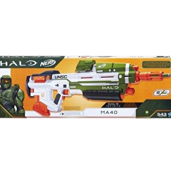 Blaster Nerf - Halo MA40, 10 proiectile
