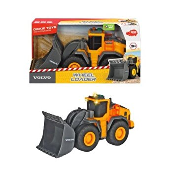 Buldozer Dickie Toys, Volvo Wheel Loader