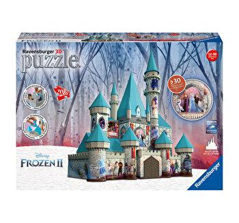 Puzzle 3D - Castel Frozen II, 216 piese