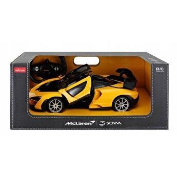 Masina cu telecomanda McLaren Senna, galben, scara 1 la 14