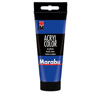 Culoare acrilica Marabu, 100 ml, Albastru Ultramarin