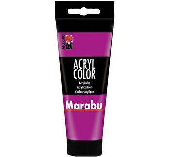 Culoare acrilica Marabu, 100 ml, Magenta