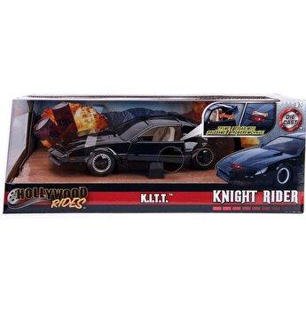 Masinuta metalica Kitt Knight Rider Pontic 1982 Trans Am