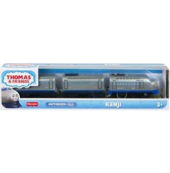 Locomotiva Thomas Friends, Kenji, motorizata, cu 2 vagoane si accesorii