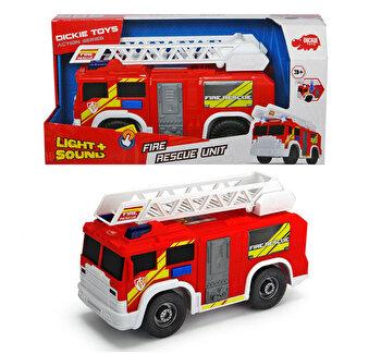Masina de pompieri Dickie Toys, cu functiuni, 30 cm
