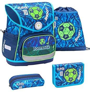 Ghiozdan scoala echipat Belmil Compact - Joaca Fotbal