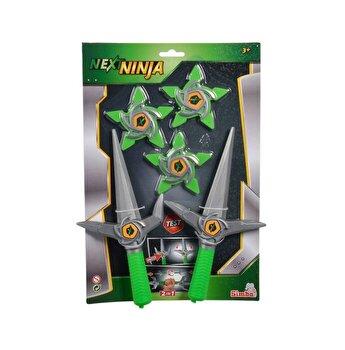 Set cutite si stelute Ninja