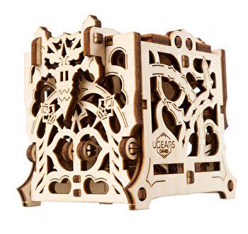 Puzzle Mecanic 3D - Cutie mecanica pentru zaruri