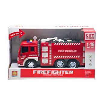 Masinuta pompieri cu functiuni fire rescue, scara 1 la 16