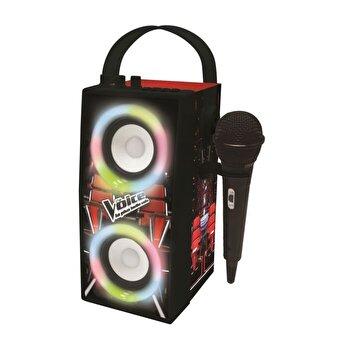 Boxa portabila cu lumini, bluetooth si microfon