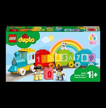 LEGO DUPLO - Primul meu tren cu numere: Invata sa numeri 10954