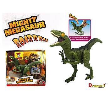 Dinozaur Velociraptor cu functii si sunete - Marime medie