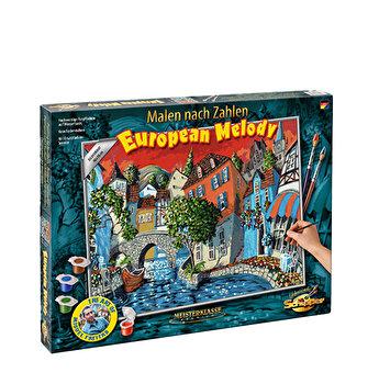 Kit pictura pe numere Schipper - The European melody