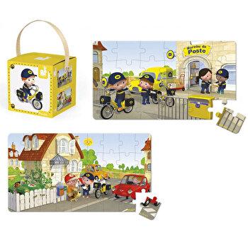 Puzzle 2 in 1 - Bicicleta lui Matteo, 24 + 36 piese