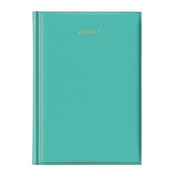 Agenda Artibest, datata A5, coperta verde pal