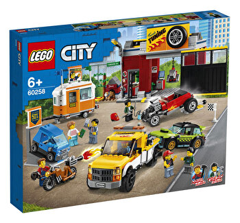 LEGO City, Atelier de tuning 60258