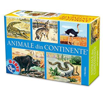 Joc romanesc - Nicolau - Animale din continente