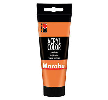 Culoare acrilica Marabu, 100 ml, Orange