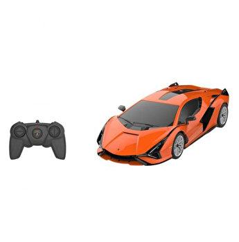 Masina cu telecomanda Lamborghini Sian, portocaliu, scara 1 la 24