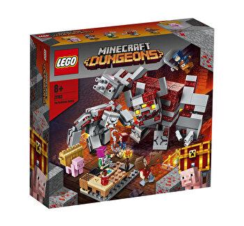LEGO Minecraft - Batalia pentru piatra rosie 21163
