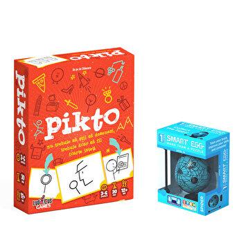 Pachet joc Pikto + Smart Egg Paianjen