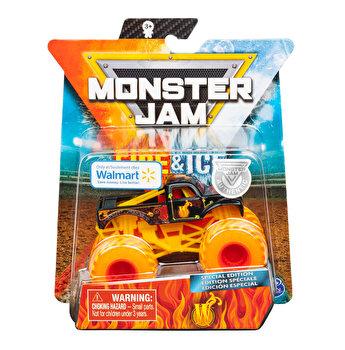 Monster Jam, macheta metalica Fire and Ice - Persoajul W