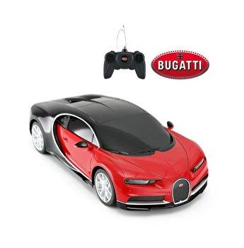 Masina cu telecomanda Bugatti Chiron, rosu, scara 1 la 24