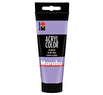 Culoare acrilica Marabu, 100 ml, Lavanda