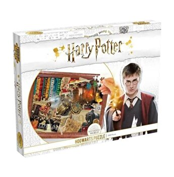 Puzzle Harry Potter - Hogwarts, 1000 piese