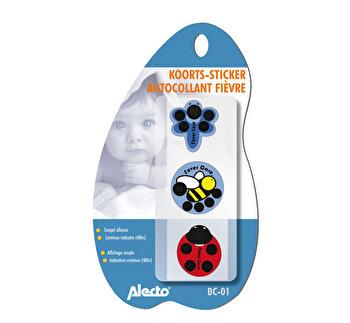Stick de febra autocolant 48 h pentru copii, 3buc