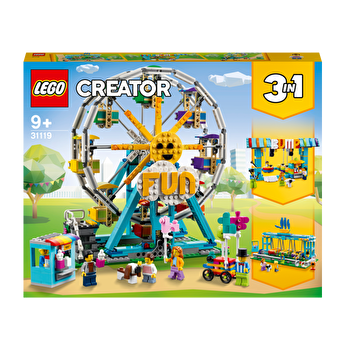 LEGO Creator 3 in 1 - Roata din parcul de distractii 31119