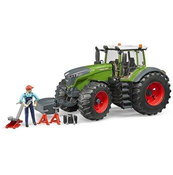 Jucarie Bruder, Agriculture - Tractor Fendt 1050 Vario cu mecanic si echipament