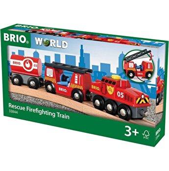 Jucarie Brio - Tren de pompieri